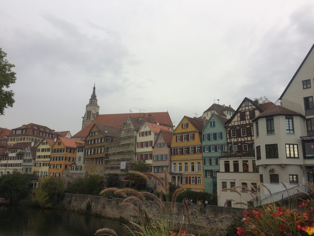 View from the Neckar Bridge in Tübingen